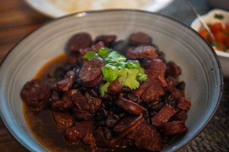 Instant Pot Feijoada (Brazilian Black Bean Stew)