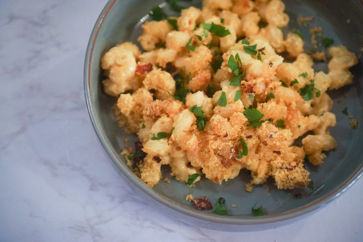 Farofa-Topped Brazilian Mac and Cheese (Macarrao com Queijo)